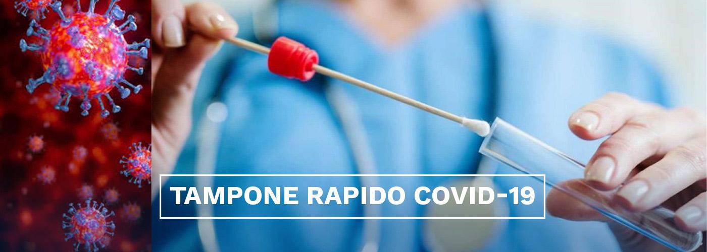 Tamponi antigenici rapidi Covid-19 - Poliambulatorio San Paolo